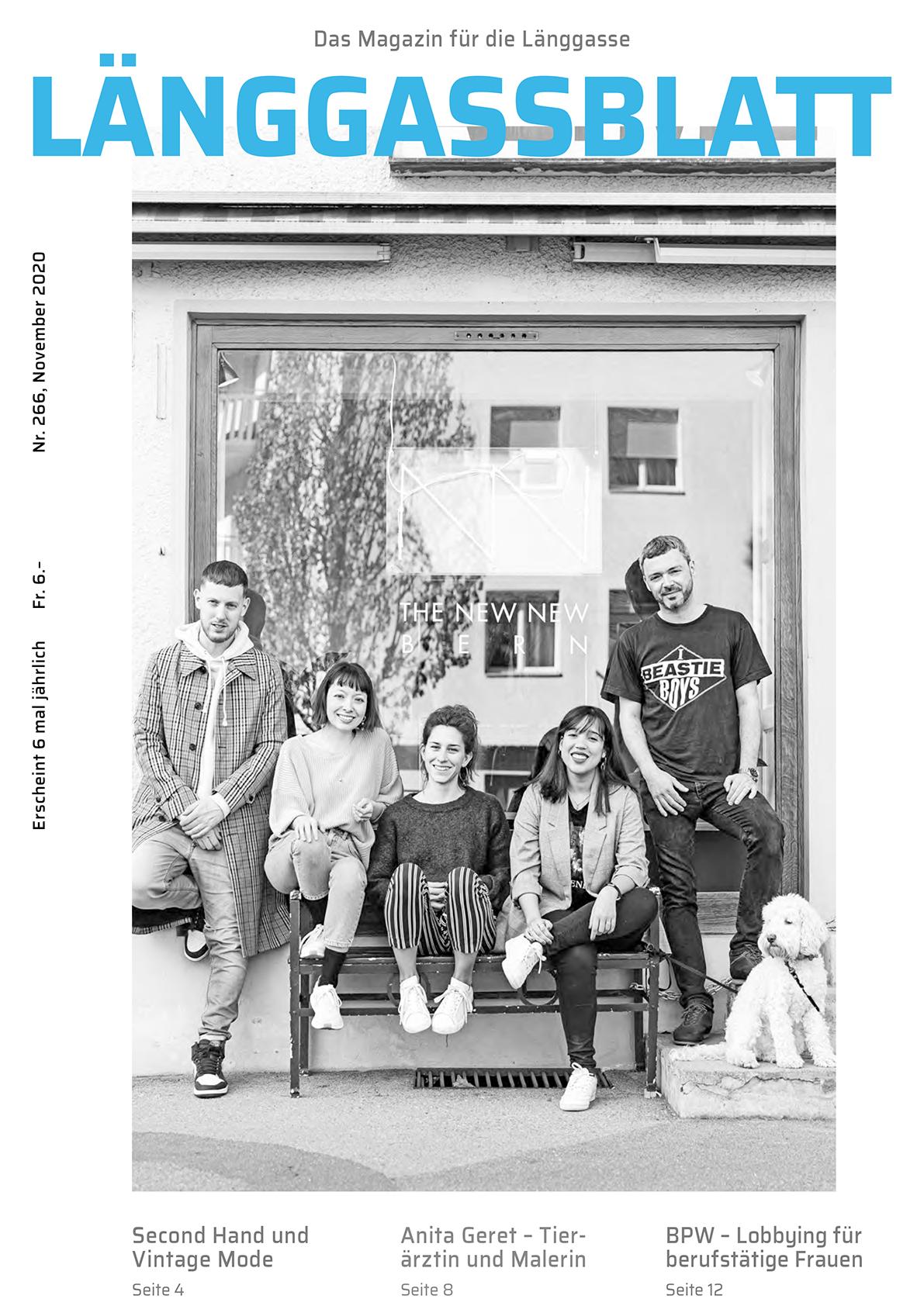 Länggassblatt 266 Titel